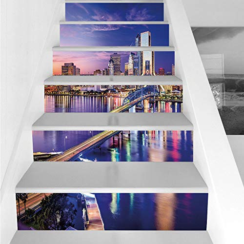 Stair Stickers Wall Stickers,6 PCS Self-adhesive,United States,Jacksonville Florida