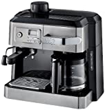Best Espresso Coffee Maker DeLonghi BCO330T Combination Drip Coffee and Espresso Machine, 24