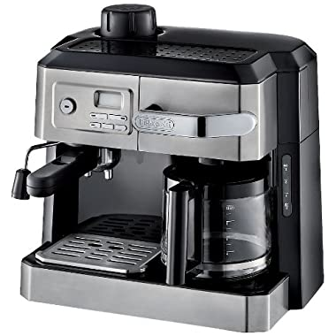 DELONGHI BCO330T and and Espresso Machine, 24  x 14  x 14 , Black/Stainless Steel