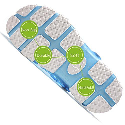Blue Sandals Slippers Slip Summer Shoes Clogs Outdoor Sport Walking Garden Non Beach Slides Techcity Breathable Pool Unisex Shower Sky WPZXxU