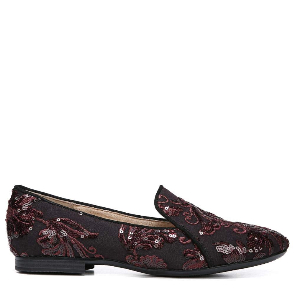 Bordo Embroidered Lace Naturalizer Women's Emiline Loafer Flat
