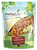 Food to Live Organic Almonds (1 Pound, Pack of 25)