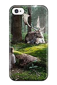 TYH - Defender Case For ipod Touch 4, Fairytale Forest Pattern 8320172K44626411 phone case