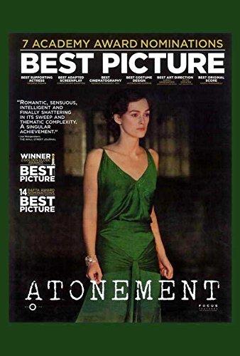 Atonement Poster C Keira Knightley James McAvoy Brenda Blethyn
