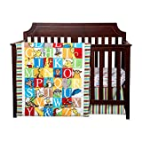 Trend Lab Dr. Seuss Alphabet Seuss Baby Bedding Collection 3-pc. Crib Set