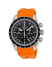 OMEGA Men's 16mm Rubber Band Titanium Case Quartz Watch 321.92.44.52.01.003