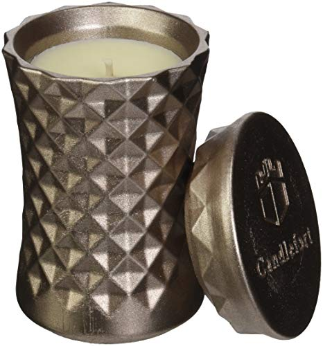 Candellana Candles Candlefort Candles Concrete Poly II-Brass, Scent: for Her