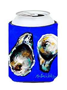 Oyster arriba y abajo puede o botella Koozie Hugger