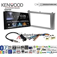 Volunteer Audio Kenwood DDX9704S Double Din Radio Install Kit with Apple Carplay Android Auto Fits 2000-2003 Nissan Maxima (Without Bose)