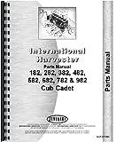 International Harvester Cub Cadet 982 Lawn & Garden Tractor Parts Manual