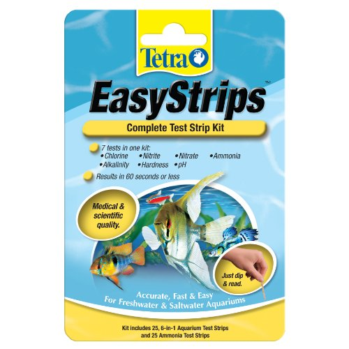 Tetra 19544 EasyStrips Complete Kit, 25-Count Advanced Pond Kit
