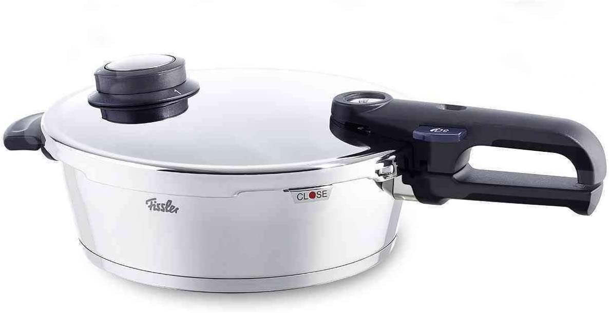"Fissler vitaquick premium Pressure-Skillet, Pressure-Cooker with Lid (2.7 Qt., 8.5"") Induction"