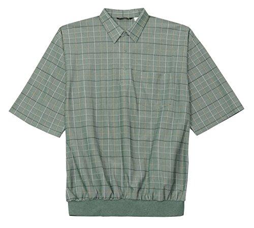 LD Sport Big and Tall Short Sleeve Box Banded Bottom Shir...