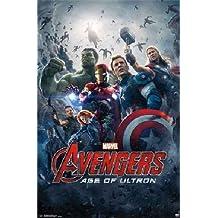 "Avengers Age of Ultron Avengers 2 Movie Poster One Sheet Marvel 22""x34"" Art Print Poster"