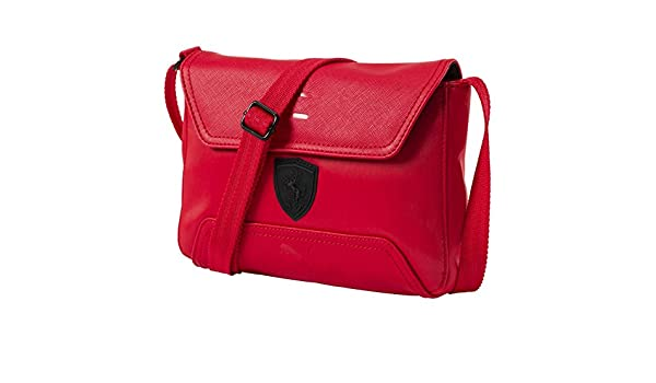 41fbd814b95 Amazon.com   PUMA Ferrari LS Red Satchel   Sports   Outdoors