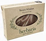Herbaria Brown Windsor hand crafted all natural soap scented with essential oils