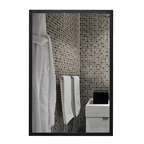 Bonnlo Large Aluminium Rectangle Mirror for Wall 24