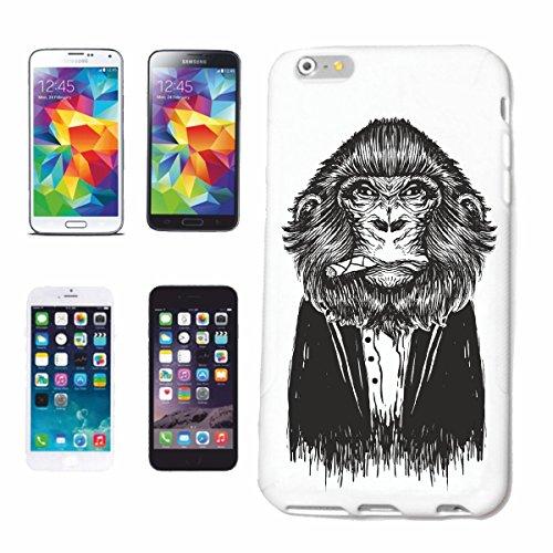 """cas de téléphone iPhone 7 """"CHIMPANZEE VINTAGE SILVER RETOUR GORILLA APE MONKEY MONKEY MONKEY GORILLA CHIMP SILVER RETOUR APE CHARLY MONKEY KING KONG"""" Hard Case Cover Téléphone Covers Smart Cover pour"""