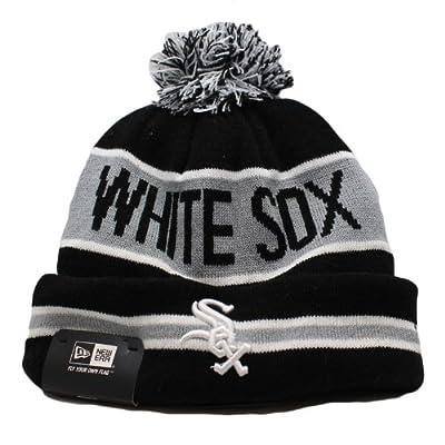 New Era Chicago White Sox MLB Team Logo Knit Cap with Cuff OSFA-EMBD