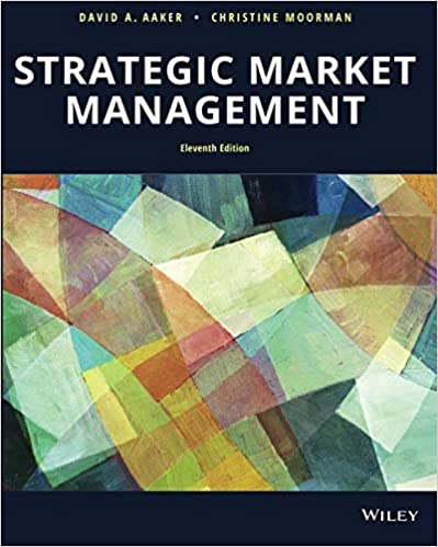 Strategic Market Management, 11th Edition [David A. Aaker]