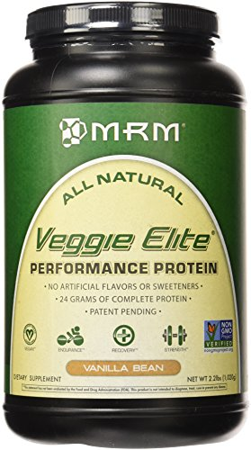 MRM - Veggie Elite Performance Protein, 24 Grams of Flavorfu
