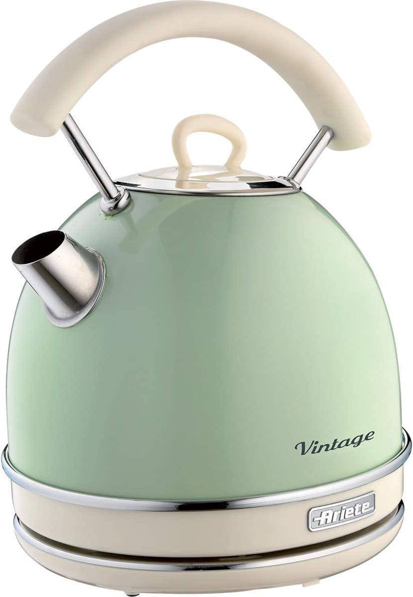 Ariete 2877, Hervidor vintage, color verde/crema