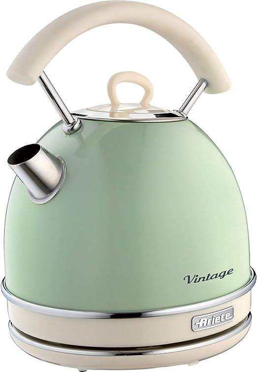 Ariete 2877, Hervidor vintage, color verde/crema: Amazon.es: Hogar