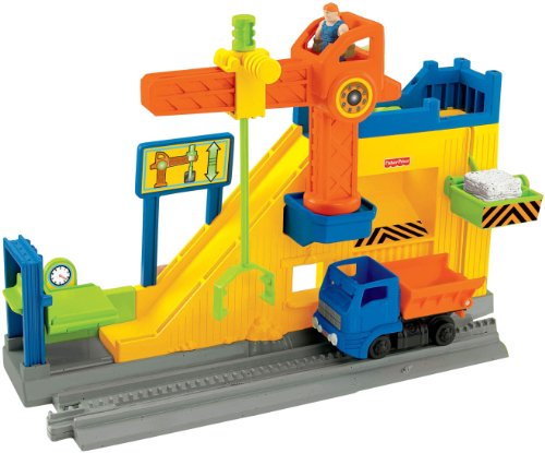 Fisher-Price GeoTrax Lift & Load Construction Co.