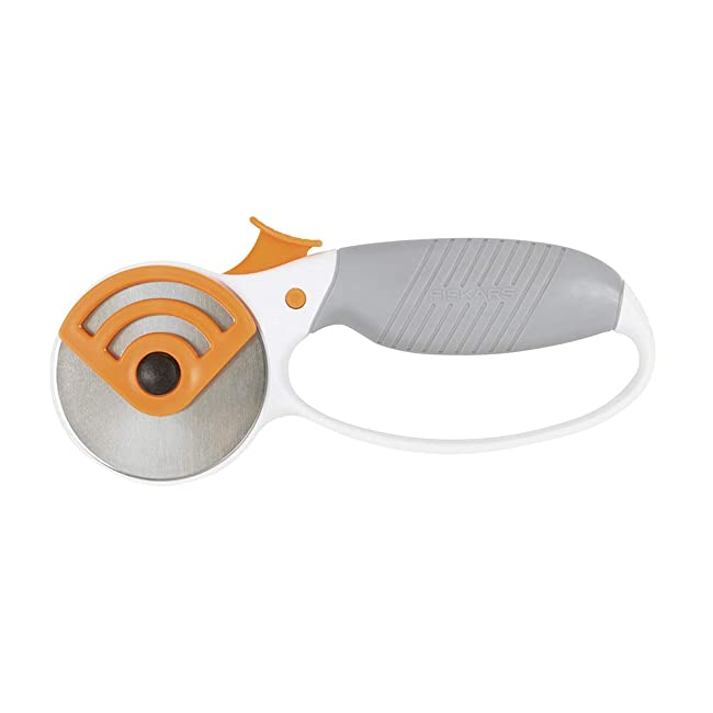 Best Rotary Cutter for Leather: Fiskars Heavy-Duty Rotary Cutter