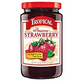 Tropical Preserves, Strawberry, 18 Ounce (Pack of 12)