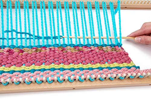 Authentic Knitting Board with Peg Extenders, 28-Inch by Authentic Knitting Board (Image #3)