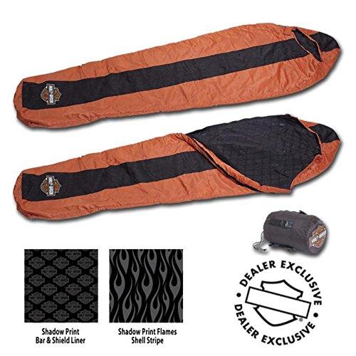 Harley Davidson Flames Sleeping Bag HDL-10017