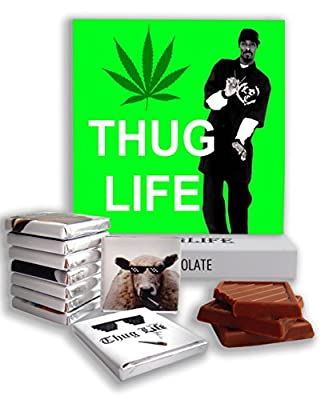 """Chocolate gift ? """"THUG LIFE"""" ? funny cool gift for your swag friends"""