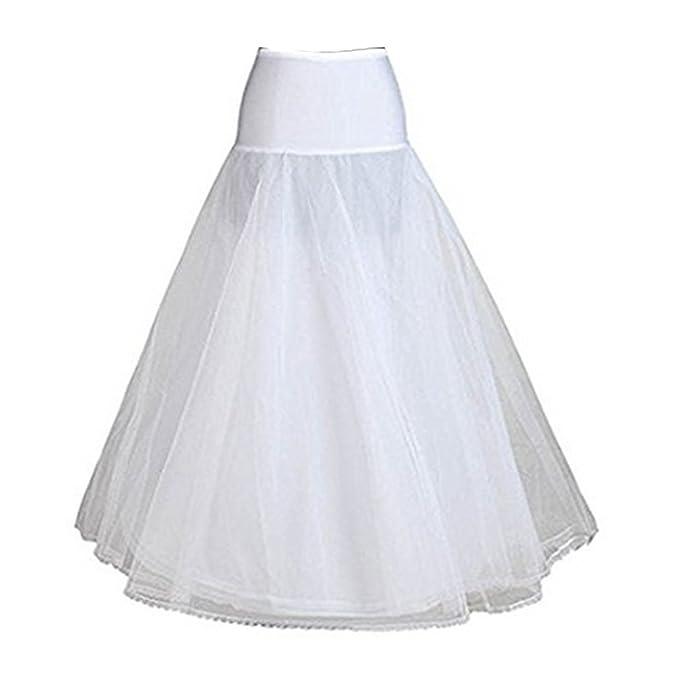BEAUTELICATE A-Line Full Vestidos de Novia Vestido de Novia Vestido Que Llegue Slip Enaguas