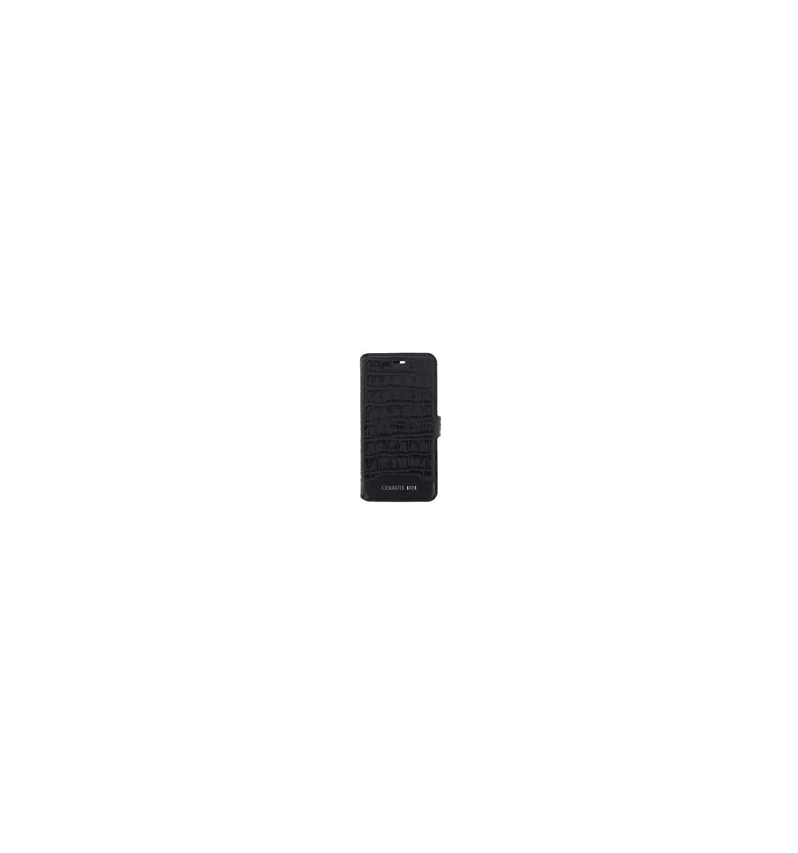 Cerruti 1881/Crocodile Print Book Type en Cuir /Étui pour Apple iPhone 7