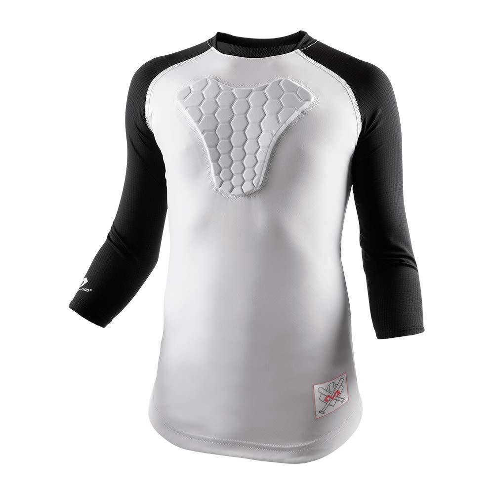 McDavid Youth HEX Sternum Raglan 3/4 Sleeve Shirt