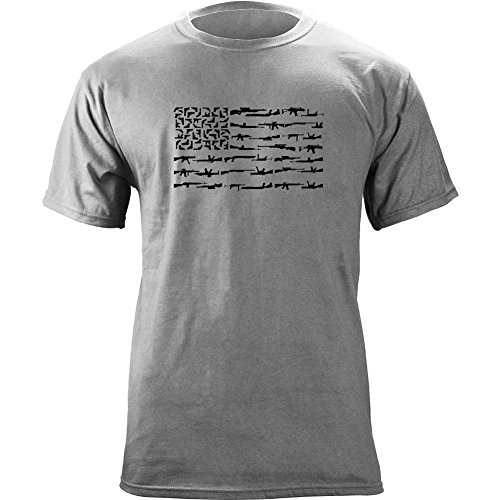 Molon Labe Freedom Flag T Shirt