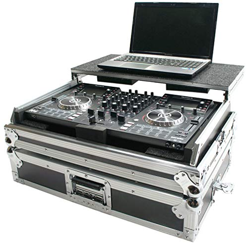 Harmony DJ Case HCNVLT Flight Ready Glide Laptop Stand Road DJ Case Numark NV II