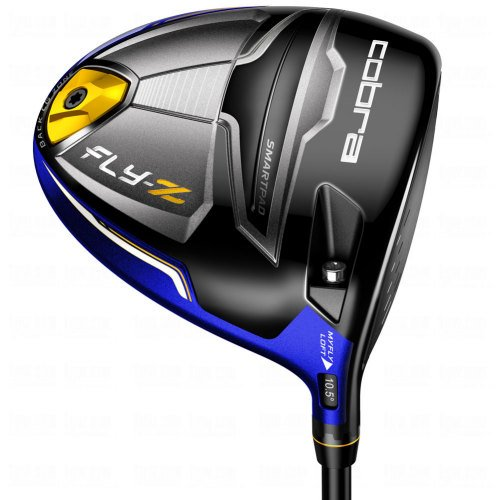 Cobra Men's Fly Z Driver, Regular, Graphite, Strong Blue, Left Hand