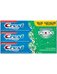 Crest Complete Whitening Plus Scope Toothpaste - Minty...