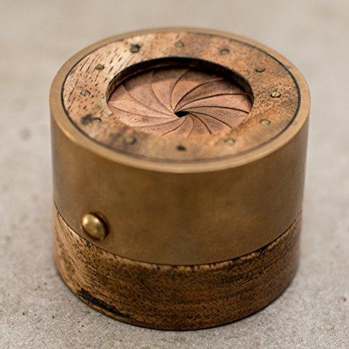 Aperture Ring Box - Mango Wood by Alohana