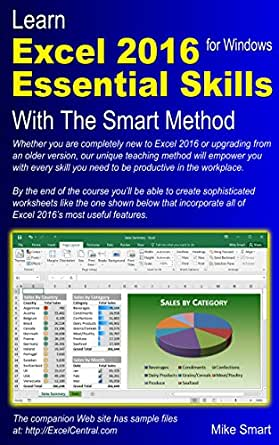 Learn Excel 2016 Essential Skills with The Smart Method ...