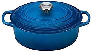 Le Creuset Signature Enameled Cast Iron Oval Dutch Oven, 2.75 qt, Marseille
