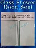 DS106 7/16 Tall Bubble Seal Frameless Glass
