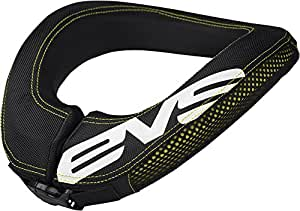 EVS Sports R2 Race Collar (Black, Adult)
