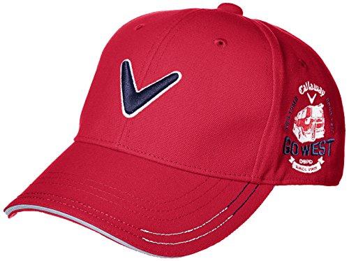 (キャロウェイアパレル) Callaway Apparel < メンズ > 速乾 ロゴ入り 定番 キャップ (クールマックス) ゴルフ 帽子 241-7184505