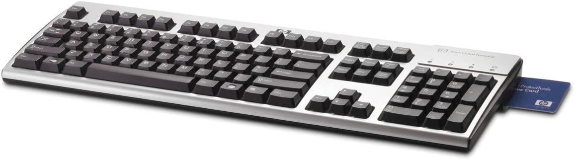 HEWLETT PACKARD HP USB CCID SMARTCARD KEYBOARD.