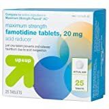 Famotidine Maximum Strength Acid Reducer Tablets - 25ct - Up&Up153; (Compare to active ingredient in Maximum Strength Pepcid AC)