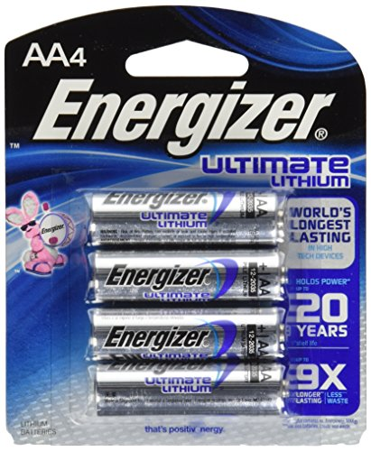 Energizer Ultimate Lithium Batteries L91