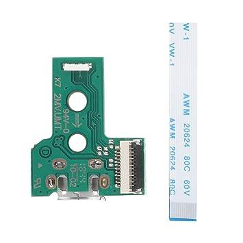 Amazon.com: NATRUSS JDS-030 - Cargador USB para mando de PS4 ...